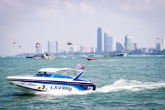 Pattaya speedboat Stock Photo