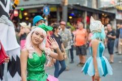 Pattaya ståtar Arkivbilder