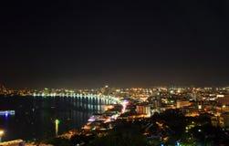 Pattaya stad Arkivbilder
