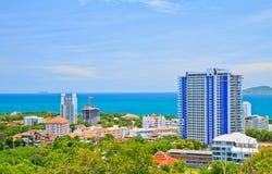 Pattaya stad Arkivbild