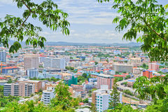 Pattaya stad Fotografering för Bildbyråer
