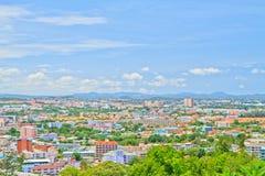 Pattaya stad Royaltyfri Fotografi