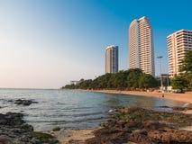 Pattaya stad Arkivfoton