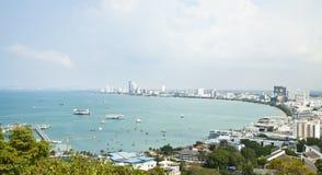 Pattaya-Stadt Stockfotos