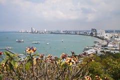 Pattaya-Stadt. Stockbilder