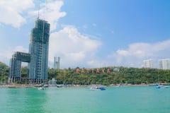 Pattaya-Stadt Stockfoto