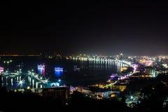 Pattaya-Stadt, Thailand stockfotos