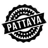 Pattaya-Stempelgummischmutz Stockfoto