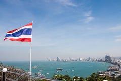 Pattaya-Strand Lizenzfreie Stockfotos