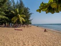 Pattaya strand Royaltyfri Foto