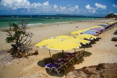 Pattaya strand, KohLAN, Thailand arkivbild