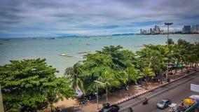 Pattaya-Strand Thailand Lizenzfreies Stockbild