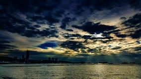 Pattaya-Strand Thailand Lizenzfreie Stockfotos
