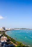 Pattaya-Strand, Thailand Stockbild