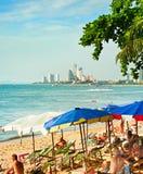 Pattaya-Strand, Thailand Stockbilder