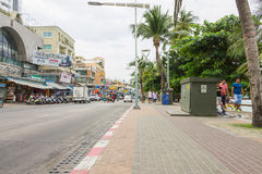 PATTAYA, TAILÂNDIA - 17 de dezembro de 2014 Imagem de Stock