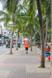 PATTAYA, TAILÂNDIA - 17 de dezembro de 2014 Imagem de Stock Royalty Free