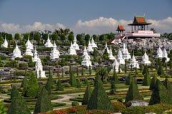 Pattaya, Tailândia: Jardins de Nong Nooch imagem de stock