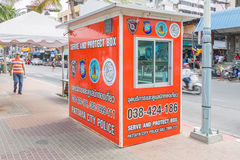 PATTAYA, TAILANDIA - 17 dicembre 2014 Fotografie Stock
