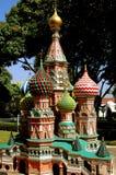 Pattaya, Tailandia: La cattedrale del basilico della st a Mini Siam Fotografie Stock Libere da Diritti