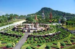 Pattaya, Tailandia: Stonehenge a Nong Nooch Fotografia Stock