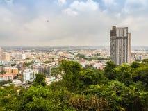 Pattaya, Thaïlande - 21 janvier 2016 : Les nouveaux gratte-ciel Photographie stock