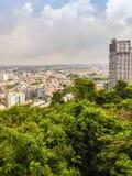 Pattaya, Thaïlande - 21 janvier 2016 : Les nouveaux gratte-ciel Images libres de droits