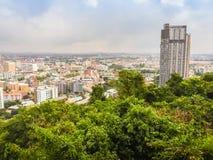 Pattaya, Thaïlande - 21 janvier 2016 : Les nouveaux gratte-ciel Images stock