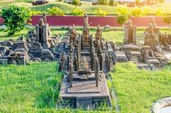 PATTAYA, THAILAND - April 10 2016 : Wat Mahathart ,Sukhothai in Stock Image