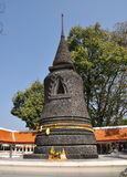 Pattaya, Thailand: Black Stone Chedi Royalty Free Stock Photos