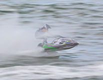 PATTAYA, THAILAND-DECEMBER 9: Competitors at Jet Ski King's Cup World Cup Grand Prix 2012 Stock Photo