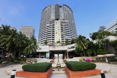 Pattaya Thailand - December 16: fascinera turnerar av staden Royaltyfri Fotografi
