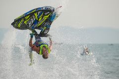 Jet Ski World Cup 2017 in Thailand Royalty Free Stock Images