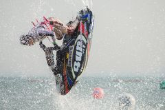 Jet Ski World Cup 2017 in Thailand Royalty Free Stock Photo