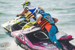 Jet Ski World Cup 2017 in Thailand Stock Images