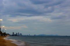 Pattaya Thailand der Abend Stockbilder