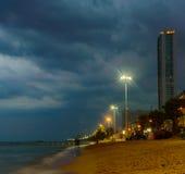 Pattaya Thailand der Abend Lizenzfreies Stockfoto
