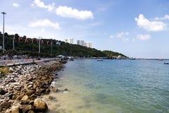 Pattaya in Thailand dichtbij Bangkok Royalty-vrije Stock Foto's