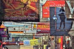 PATTAYA, THAILAND - FEBRUARY 2014: Nightlife with prostitution Stock Photo