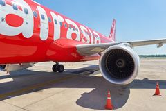 U-Tapao - Pattaya International Airport Stock Photo