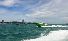 Pattaya Thailand landskap Royaltyfri Foto