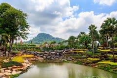 PATTAYA, THAILAND - MAART 2013: De Tuin van Nongnooch Royalty-vrije Stock Foto