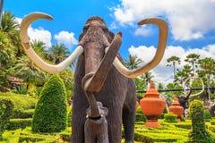 PATTAYA, THAILAND - MAART 2013: De Tuin van Nongnooch Stock Afbeelding
