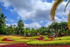 PATTAYA, THAILAND - MAART 2013: De Tuin van Nongnooch Stock Afbeeldingen