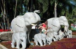 Pattaya, Thailand: Nong Nooch Gardens Royalty Free Stock Images