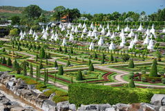 Pattaya, Thailand: Noong Nooch Tropical Gardens Royalty Free Stock Images