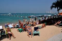 Pattaya, Thailand: Pattaya Beach Scene Royalty Free Stock Photos