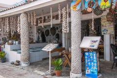 Pattaya, Thailand Sands Island seafood restaurant Royalty Free Stock Image