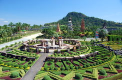 Pattaya, Thailand: Stonehenge At Nong Nooch Stock Photo