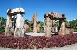 Pattaya, Thailand: Stonehenge at Nong Nooch Royalty Free Stock Images
